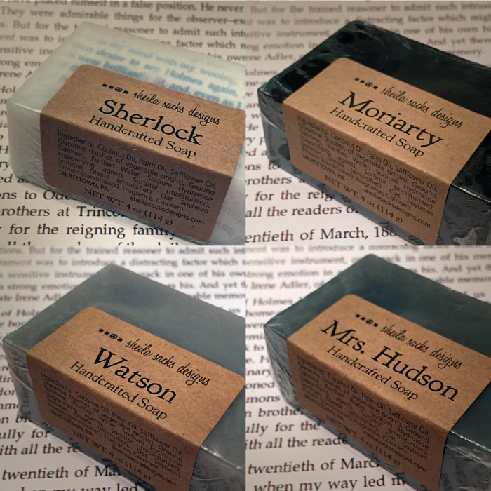 Sherlock Soaps 221B Bather Street